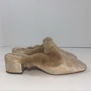 199e56bc0e8 Sam Edelman Shoes - Sam Edelman Adair Faux Fur Block Heel Mules